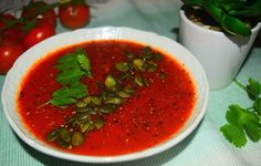 A healthy and delicious tomato soup recipe from MyNutriCounter
