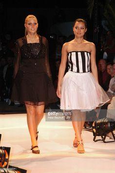 Teilnehmerinnen der 'Miss Germany'-Wahl 2005: Lena Weber ('Miss T-Online'), Kimmy Heß ('Miss Baden-Württemberg'), (v.li.n.re.), v.li.n.re.), Gran Canaria/Kanarische Inseln/Spanien, ,
