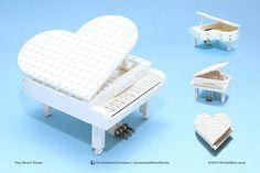 BricksBen - LEGO Toy Heart Piano Mug Shots - Jonathan Meur Album 2014 | by BricksBen LEGO® Creations