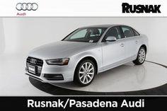 2014 Audi A4, 5,177 miles, $31,299. Sedans, Audi A4, Car, Automobile, Limo, Autos, Cars