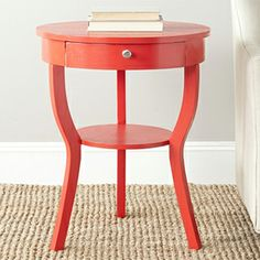 Safavieh -- Kendra Red Hot End Table