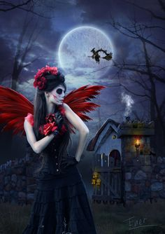 ❁☠❀ Dia de Los Muertos  ❀☠❁ ☾☾ Halloween Ѽ All Hallows ☾☾ In the living world by Energiaelca1