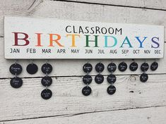 Ideas Birthday Board Ideas For School Teachers Class Birthdays, Family Birthdays, Teacher Birthday Gifts, Teacher Gifts, Teacher Hacks, Teacher Stuff, Birthday Bulletin, Classroom Birthday Board, Classroom Birthday Displays
