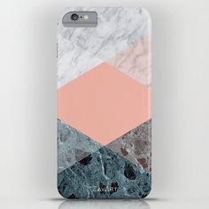 Marmor-Telefon Koffer  Iphone  6/6 s Iphone 6/6 s von Zavart
