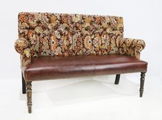 Our Longnor Sofa is a simple but comfortable design suitable for dining. The sofa is made to order and we can manufacture to your required length and can be supplied with or without buttons in the back. Lounge Areas, Love Seat, Bench Furniture, Traditional Benches, Bench, Stain Finishes, Traditional Furniture, Home Decor, Furniture Design