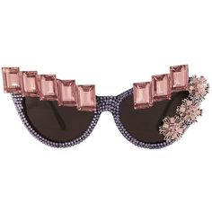 Dionysus sunglasses (51 CAD) ❤ liked on Polyvore featuring accessories, eyewear, sunglasses, glasses, cat eye glasses, cateye sunglasses, cat eye sunglasses, swarovski crystal sunglasses and checkered sunglasses