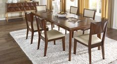Picture Of Sofia Vergara Vallejo Cherry 5 Pc Dining Room From Dining Room  Sets Furniture