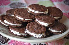 Brownie Cookie Dough Whoopie Pies