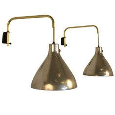 1stdibs - Pair of Swing Arm Wall Sconces by Koch Lowy explore items from 1,700  global dealers at 1stdibs.com