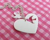 Two of Hearts Necklace | 25+ Shrinky Dink Crafts