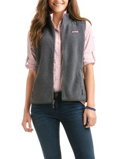 Solid Sea View Sherpa Vest