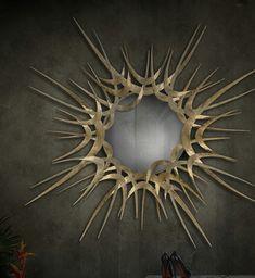 Specchio scultura koket-guilt http://paperproject.it/rubriche/design/specchio-specchio-mie-brame/ #homedecor #design