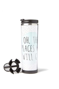 tea-riffic travel mug | Typo