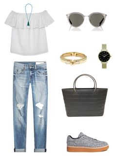 """""""Untitled #1673"""" by bushphawan ❤ liked on Polyvore featuring rag & bone, Olive + Oak, Alexander Wang, Chanel, Olivia Burton, Oliver Peoples, Kenneth Jay Lane and Alexis Bittar"""