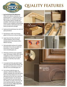 Products | Stonewood Bath Cabinetry