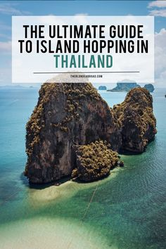 Thailand is rather inexpensive, and you will find that island hopping is a great way to see it all. Here's my ultimate guide to island hopping in Thailand! Thailand Adventure, Thailand Travel Guide, Visit Thailand, Asia Travel, Top Countries To Visit, Places To Visit, Scuba Diving Thailand, Miles To Go, Koh Tao