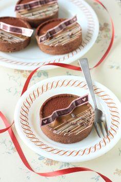 「ほろ苦!大人のタルトショコラ」kaiko   お菓子・パンのレシピや作り方【corecle*コレクル】