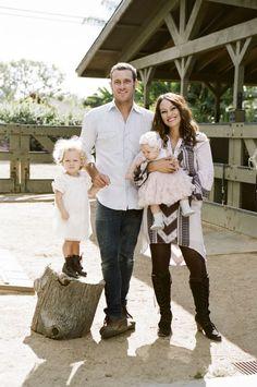 Southern California farm family session