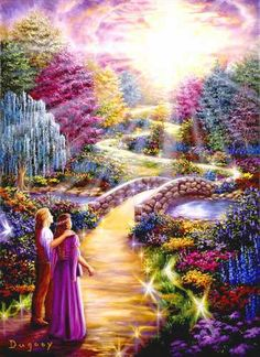 21 Signs of Spiritual Awakening (this beautiful artwork is by the visionary artist Duguay) Akiane Kramarik Paintings, Beautiful Artwork, Beautiful Pictures, Beautiful Dream, Beau Gif, Heaven Painting, Art Visionnaire, Image Jesus, Twin Flame Love
