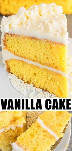 BEST VANILLA CAKE RE
