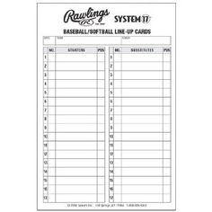 T Ball Batting Order Template The Ultimate Revelation Of T Ball Batting Order Template Baseball Lineup Lineup Softball