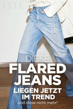 • Die Flared Jeans ist mit diesen drei Modellen 2021 wieder Trend: Flared Jeans mit Bügelfalte, schwarze Flared Jeans und Flared Jeans mit dezenter Waschung. • Drei Flared Jeans sind allerdings auch out: Distressed Flared Jeans, weiße Flared Jeans und Flared Jeans mit unruhiger Waschung. • Am liebsten kombiniert man diesen Jeanstrend mit echten Klassikern – wie Cardigans, Blazern oder Strickpullovern. #jeans #mode Jeans Trend, Flare Jeans, Mom Jeans, Blazer, Pants, Fashion, Fashion Trends, Scale Model, Trouser Pants