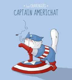 Captain Americhat by PattesDeVeloursAndCo.deviantart.com on @deviantART