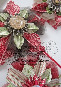 Christmas decorations.. can't wait to teach this class on Saturday!