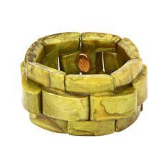 Bracelet Gigi - Col. Absinthe - Dominique Denaive