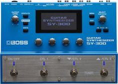 BOSS SY-300 GUITAR SYNTHESIZER membawa inspirasi dan kreativitas musik. Gunakan senjata favorit Anda dan ciptakan dunia suara yang luar biasa dengan SY-300 Guitar Synthesizer.
