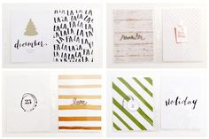 December Album 2014 {foundation pages} by LilyandTwig at @studio_calico