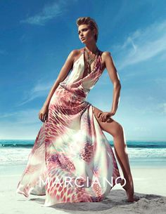 guess marciano spring 2014 campaign6 Clara Alonso & Heather Depriest Front Guess by Marciano Spring 2014 Ads by Hunter & Gatti