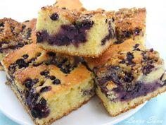 Prajitura cu afine Romanian Food, Romanian Recipes, Fondant, Cheesecake, Beverages, Muffin, Breakfast, Sweet, Desserts