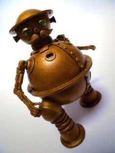 Super Punch: Tik-Tok custom figure (Return to Oz)