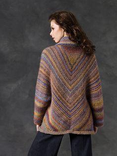 Sir Echo Jacket pattern by Heather Lodinsky – Knitting patterns, knitting designs, knitting for beginners. Poncho Sweater, Sweater Coats, Crochet Cardigan, Knit Or Crochet, Knitting Designs, Knitting Patterns Free, Sewing Patterns, Free Knitting, Free Pattern