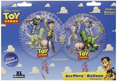 TOY Story Friends SEE Through 26 Mylar Balloon Large * Details can be found by clicking on the image.