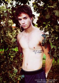 Jeremy Sumpter - looks like Peter Pan grew up & he did so quite nicely!