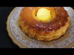 how to make créme caramel cake;;كيكة قدرة قادر‏ - YouTube