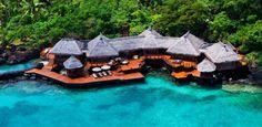 Magnifiques bungalows pour des vacances exotiques dans les îles Fidji | Construire Tendance
