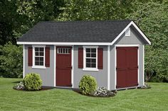 Cottage Garden Sheds | Classic Cottages - Space Makers Sheds