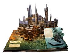 pop up book | Bruce Foster Paper Engineering » Harry Potter, A Pop-Up Book