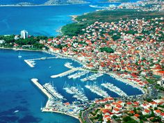 #Vodice is a town in the Šibenik-Knin County, #Croatia. It borders the Adriatic Sea #Dalmatia #travel #destination