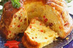 Τυρόπιτα σε Φόρμα Dessert Recipes, Desserts, Greek Recipes, Cornbread, Baked Potato, Banana Bread, Food And Drink, Snacks, Cookies