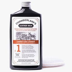Just like milk is a primary nutrient for life, Leather Milk is a vital nutrient for your SlideBelts leather straps! Chamberlain's Leather Milk is the perfect choice for cleaning and conditioning your