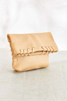 Arden + James Leather Pouch - Urban Outfitters