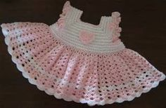 crochet baby dress patterns for free - Bing Images