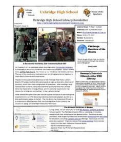 June Newsletter 2013
