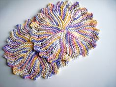 Ravelry: The Cotton Dishcloth (once removed or dressed up) by Marion Torgerson