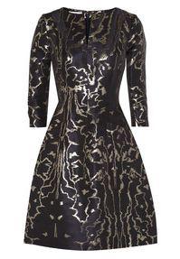 Embellished dress by Oscar de la Renta