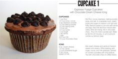 Espresso fudge: A cupcake for every day of the month